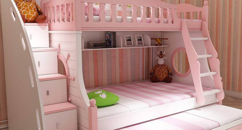 Mediterranean Bunk Bed Korean Children