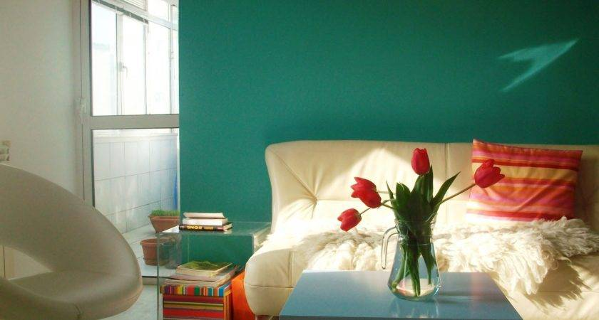 Meeha Before After Turquoise Living Room