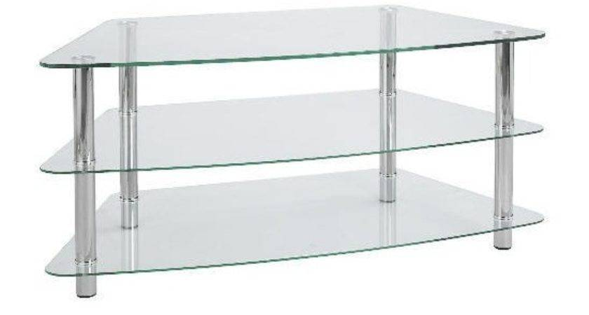 Mercury Shelf Corner Unit Clear Lcd Stand Plasma