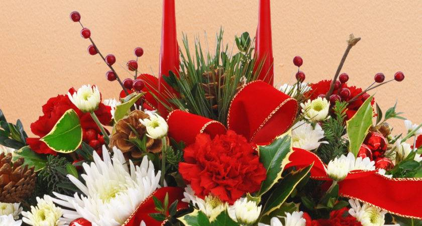 Merry Christmas Centerpiece Beautiful Holiday
