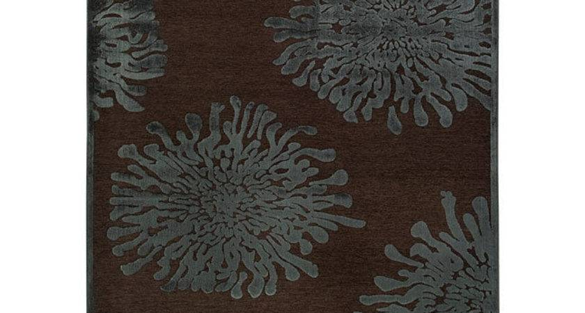 Meticulously Woven Teal Brown Abstract Rug Ebay