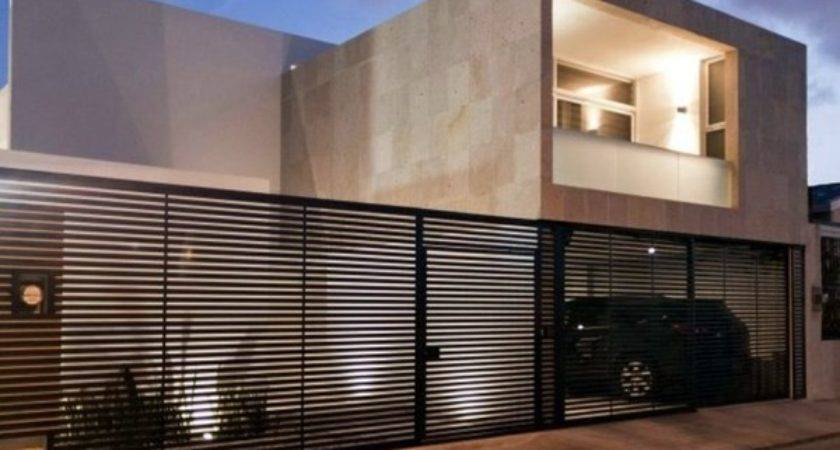 Minimalist House Industrial Touch Canun Mexico