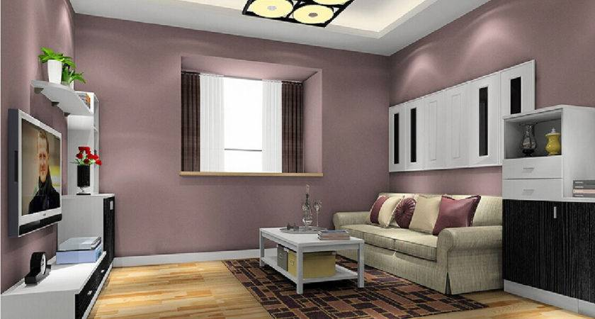 Minimalist Living Room Wall Paint Color