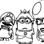 Minion Coloring Pages Best Kids