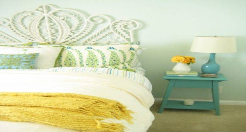 Mint Green Bedroom Walls Turquoise Yellow Gray