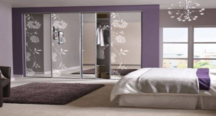Mirrored Wardrobe Doors Bedroom Designs Built