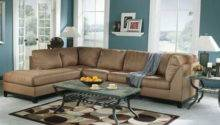 Miscellaneous Brown Blue Living Room Interior