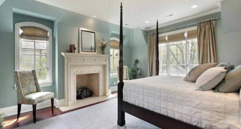 Miscellaneous Relaxing Bedroom Colors Fireplace