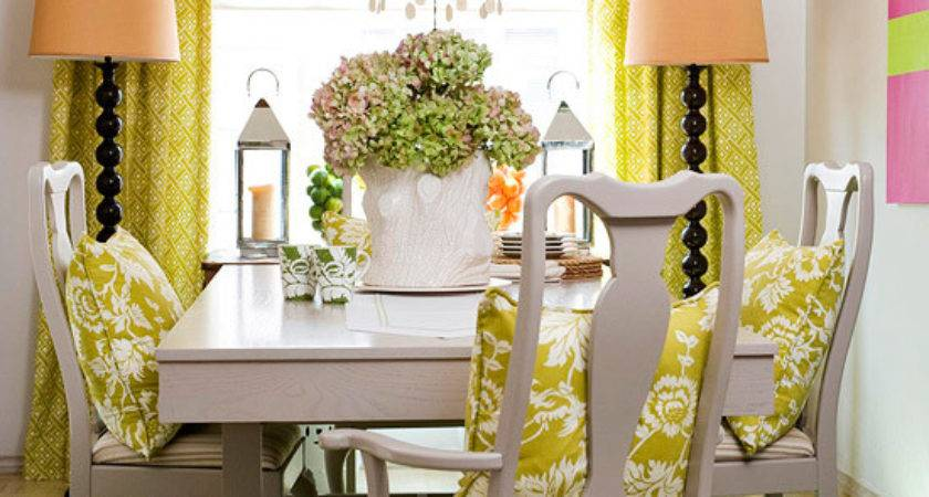 Mix Chic Bright Colorful Dining Room Ideas