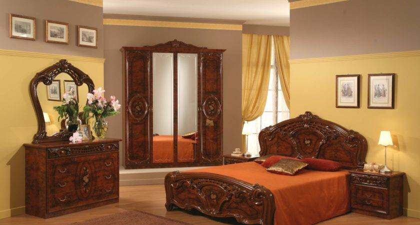 Modern Antique Chairs Master Bedroom Design Wood