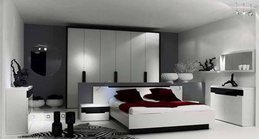 Modern Black Bedroom Furniture Designs