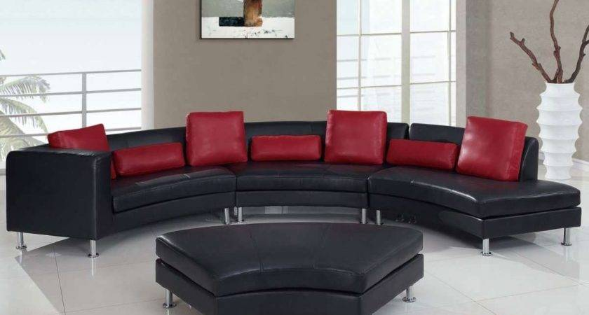 Modern Black Red Luxury Furniture Furnitureteams