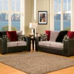 Modern Black Red Sofa Set Infosofa