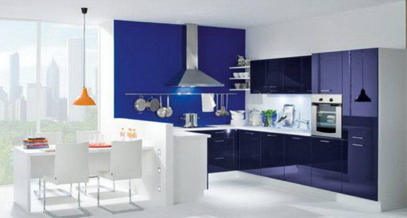 Modern Blue Kitchen Design Ideas Stylish Eve
