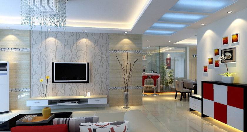 Modern Chinese Style Living Room House