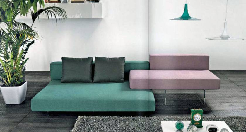 Modern Colorful Sectional Sofa Living Room Furniture