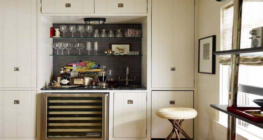 Modern Counter Stools Small Bars Spaces