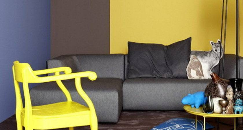 Modern Decorating Color Combinations Yellow Paint