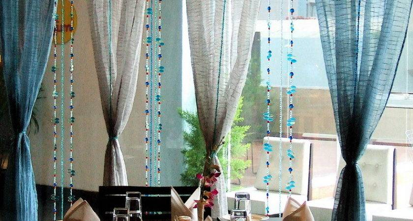 Modern Dining Room Curtains Furniture