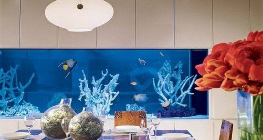 Modern Fish Tank Decoration Ideas Dining Room Your