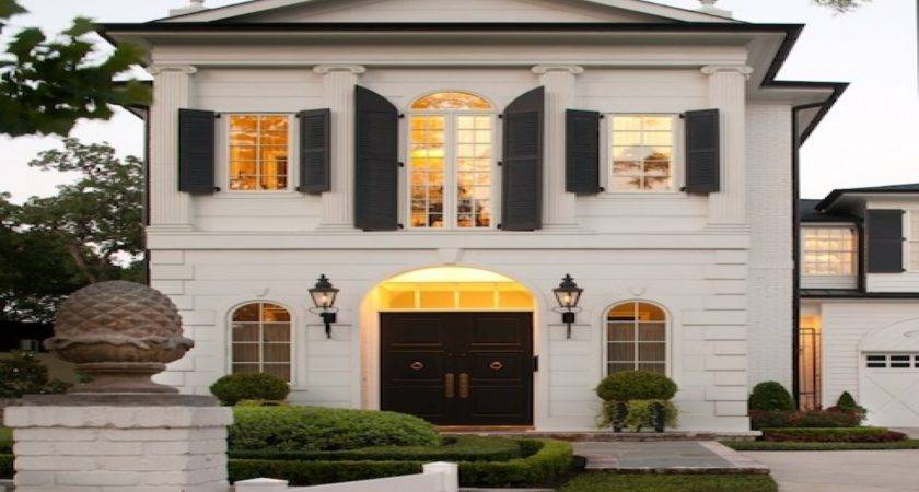 Modern French Home Exterior Michael Interior Designs