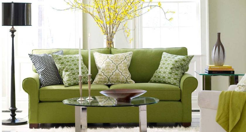 Modern Furniture Green Living Room Design Ideas