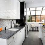 Modern Galley Kitchen Design Contemporary