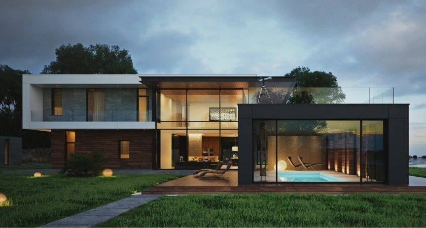 Modern House Design Provides Great Look Home