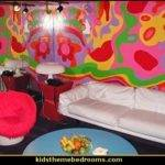 Modern House Plans Groovy Funky Retro Bedroom