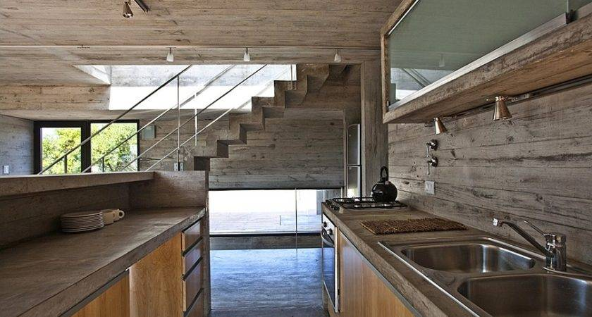 Modern House Ushers Industrial Style Raw Concrete