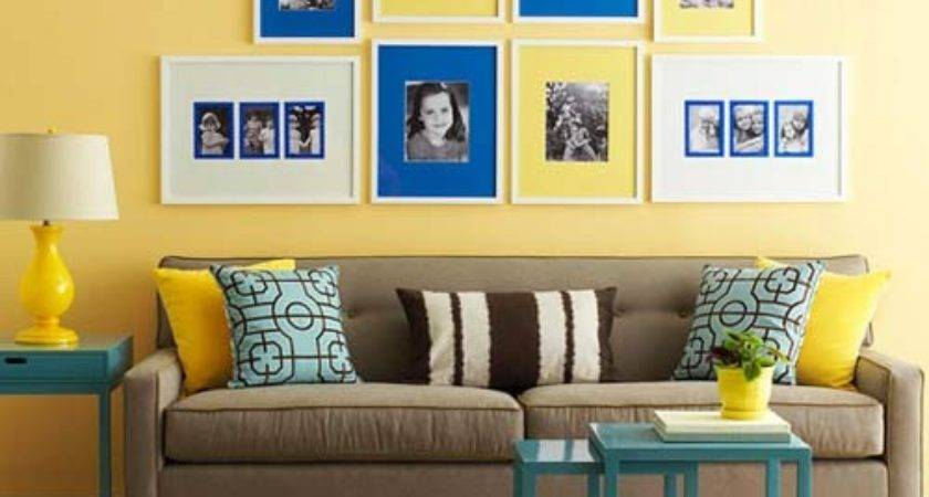 Modern Interior Decorating Yellow Color Cheerful