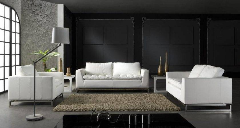 Modern Leather Lounge Suite Fortune Furniture