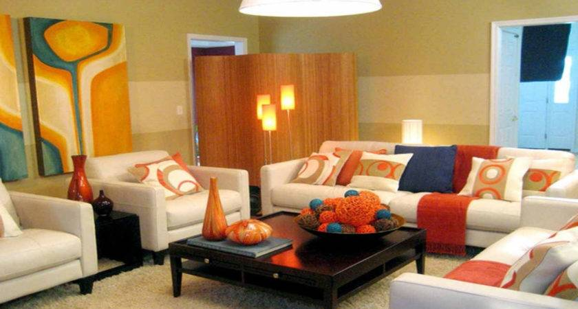 Modern Living Room Color Schemes Home Combo