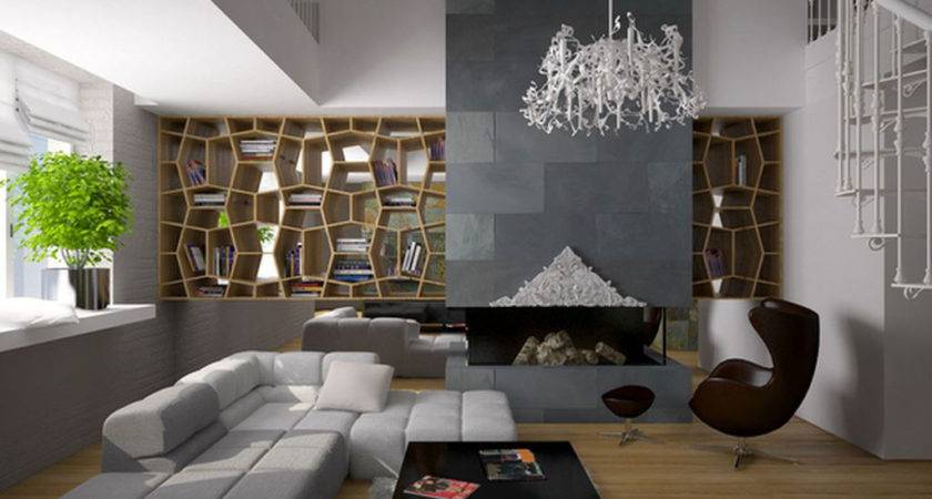 Modern Living Room Interior Decosee