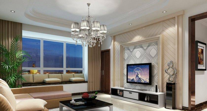 Modern Living Room Wall Designs House