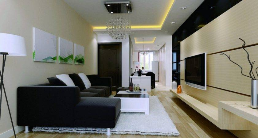 Modern Living Room Walls Decorating Ideas House