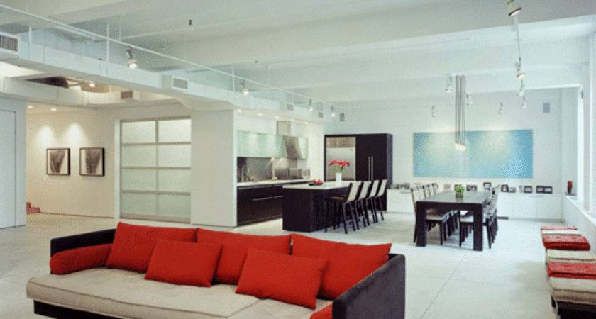 Modern Loft House Large Interior Design Ideas