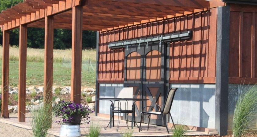 Modern Pergola Cheerful Brown Rustic Design Ideas