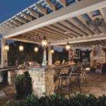Modern Pergola Designs Outdoor Kitchen Ideas