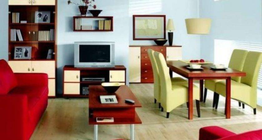 Modern Red Living Room Couch Accent Photos