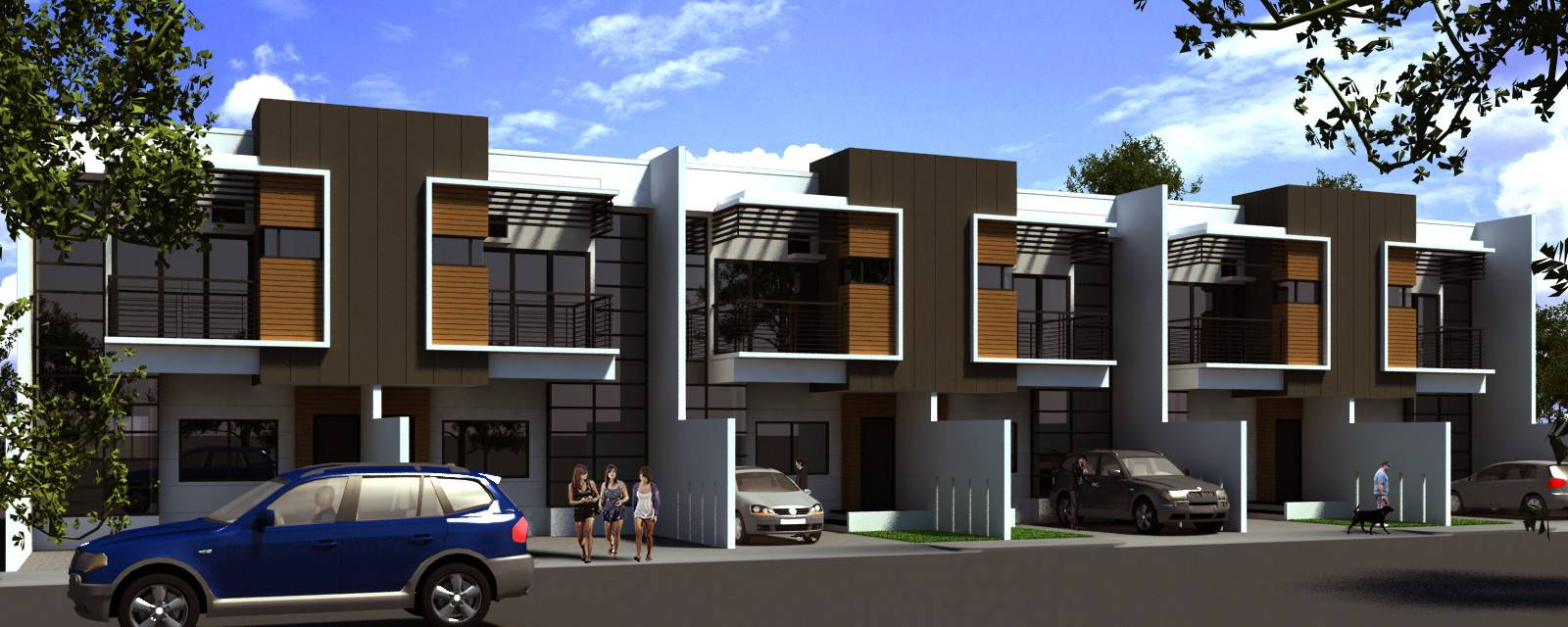 Modern Row House Design Planning Houses Architecture Homes Decor