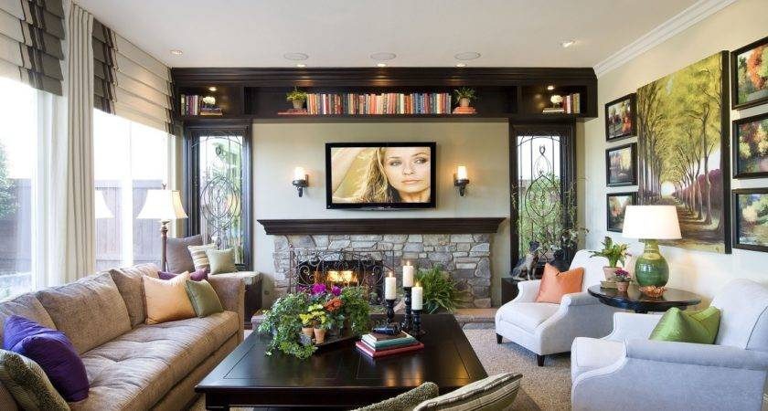 Modern Traditional Home Room Robeson Design