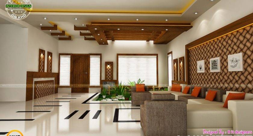 Modern Unique Dining Kitchen Interior Kerala Home