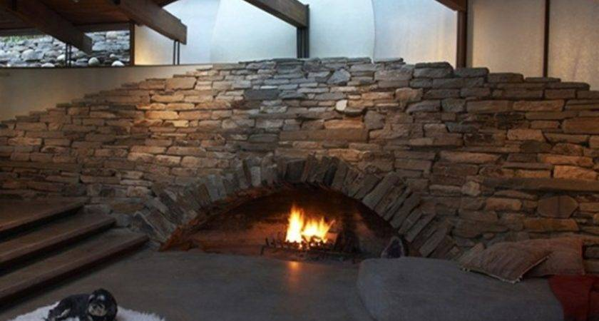 Modern Unusual Fireplaces Break Mold Lauren Makk