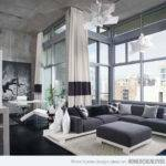 Modern White Gray Living Room Ideas House