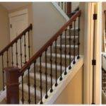 Modern Wood Stair Railings Home Design Larizza