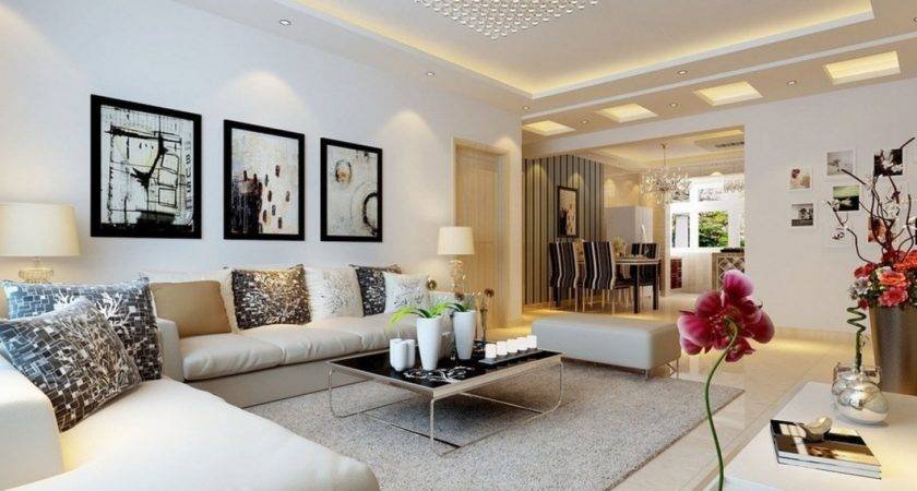 Modest Modern Interior Decorating Living Room Designs