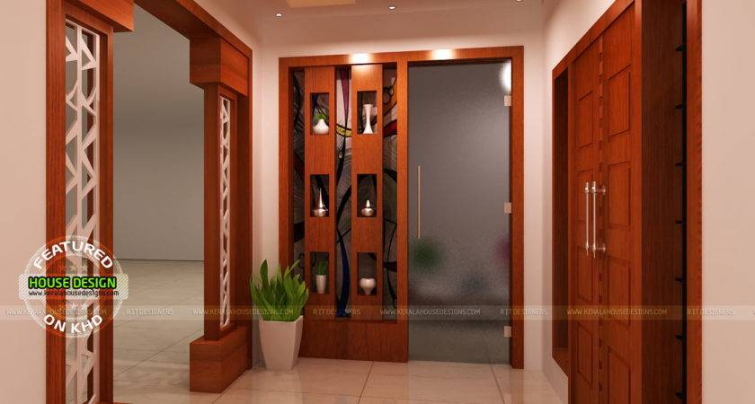 Modular Kitchen Living Bathroom Foyer Kerala Home