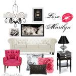 Moodboard Monday Marilyn Monroe Inspired Room