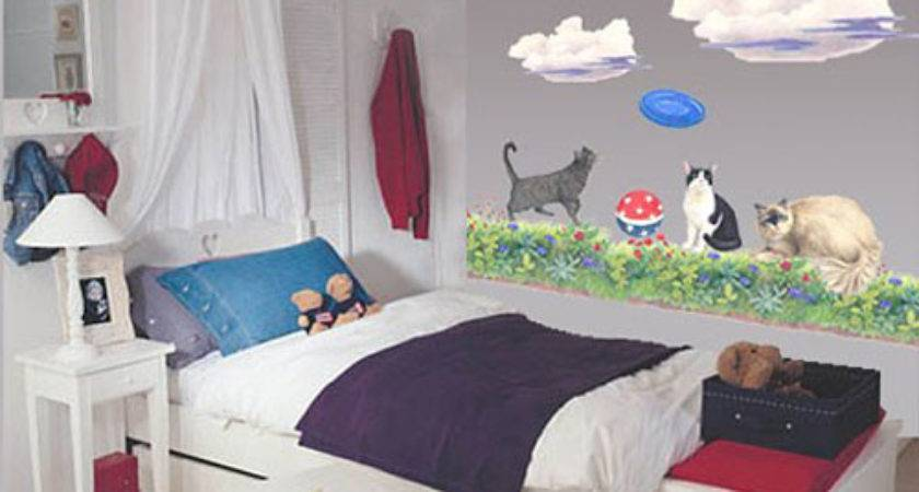 More Than Cool Ideas Cat Themed Room Design Digsdigs